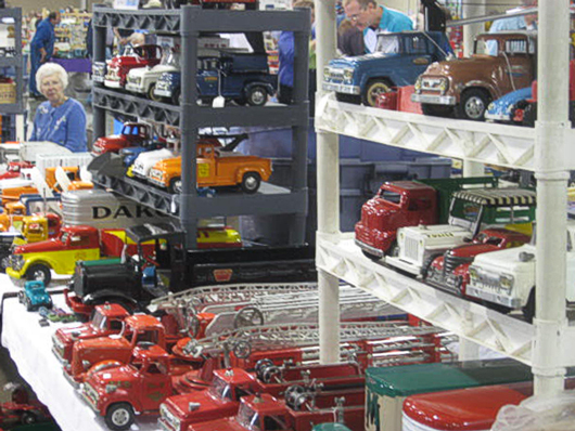 Antique Fire Truck Toys